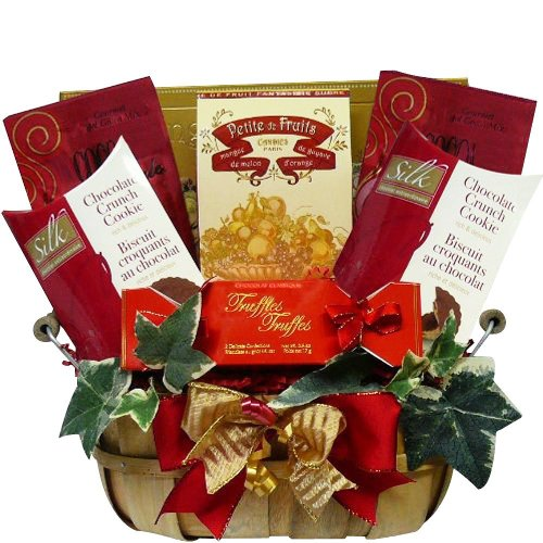 SCHEDULE YOUR DELIVERY DAY! Thoughtful Wishes Cookie and Sweets Gift Basket