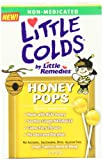 Little Colds Honey Pops Lollipop, Natural Honey, 10 Count