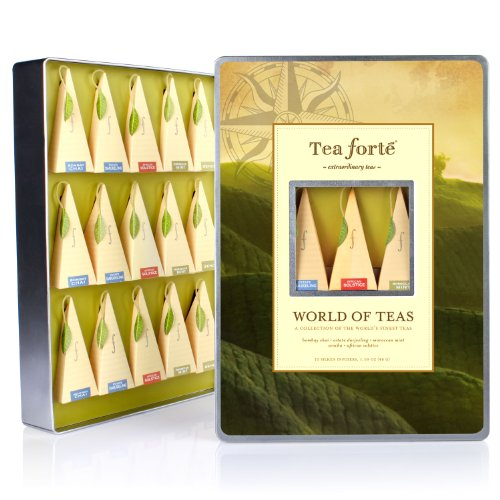 Tea Forte Large Tin Sampler Collection - World Of Teas