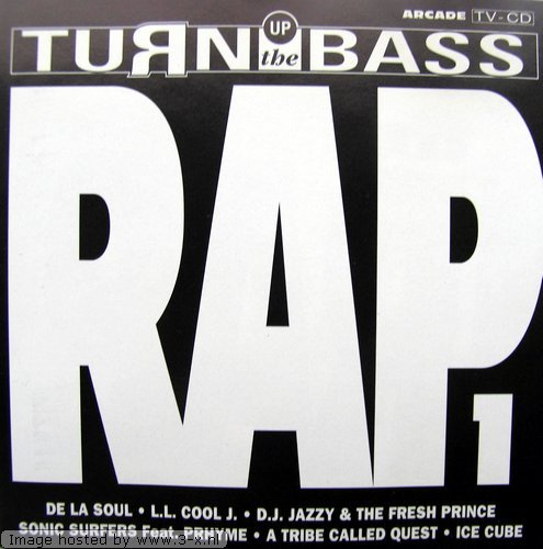 De La Soul, L.L. Cool J., D.J. Jazzy Jeff & The Fresh Prince, Sonic Surfers, Ice Cube..