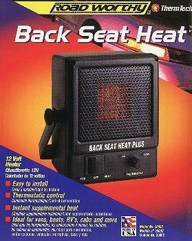 Back Seat Heat Plus 1100 BTU 12V Truck Heater