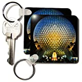 Danita Delimont - Florida - Florida, Orlando. Epcot Center at Walt Disney World - US10 BBA0072 - Bill Bachmann - Key Chains