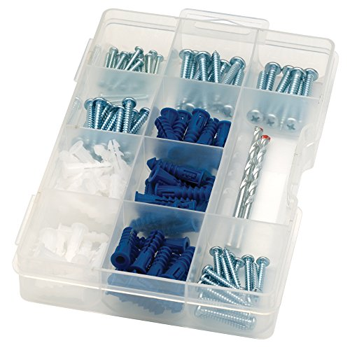 arrow-160455-drywall-drill-bit-screw-and-anchor-kit