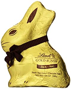 Lindt Chocolate Lindt Gold Bunny Dark Chocolate, 7 Ounce