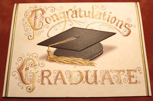 Carol Wilson Graduation Congratulations Card