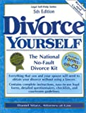 img - for Divorce Yourself: The National No-Fault Divorce Kit with Forms-on-CD book / textbook / text book