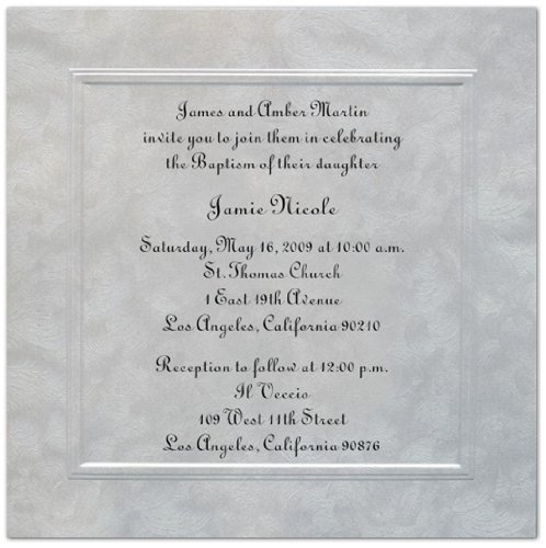 Baptism Invitations Photo front-276189
