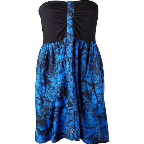 Fox Racing Spectator Girls Caual Dress - Color: Royal Blue, Size: Small