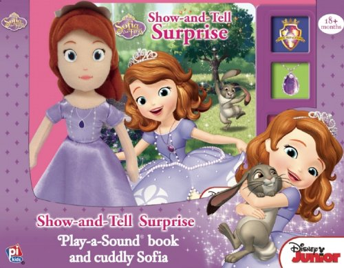 Disney Jr. Show and Tell Surprise Book Box and Plush Sofia the First - 1