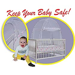 Crib Tent- Pop-up Crib Safety Net