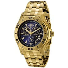 Invicta Men s 6858 II Collection Chronograph 18k Gold-Plated Watch