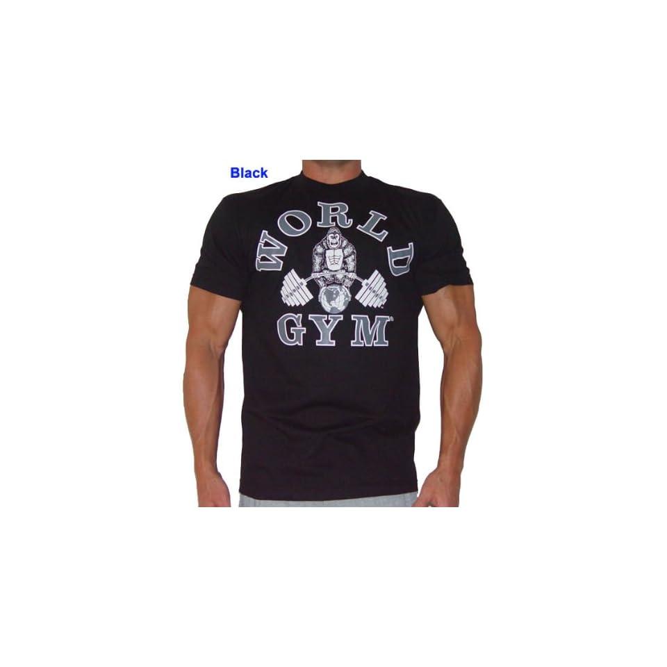 W101 World Gym Shirts Classic Gorilla logo