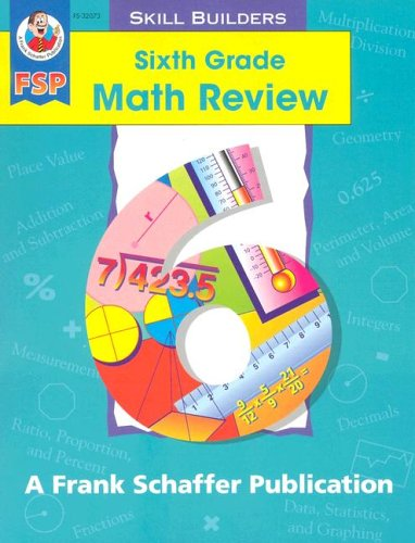 Sixth Grade Math Review (Math Review Skill Builders)