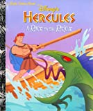 Disney's Hercules: A Race to the Rescue (Little Golden Book)