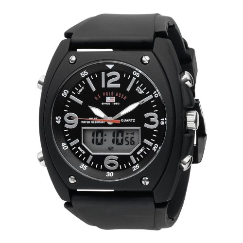 U.S. Polo Assn. Sport Men's US9052 Analog-Digital