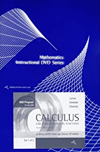 Edwards' Calculus: Early Transcendental Functions, 4th: Ron Larson