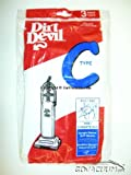 Genuine Dirt Devil Bags 3 Pack - Type C