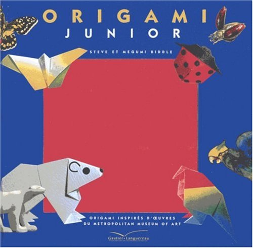 Origami junior : origamis inspirés d'oeuvres du Metropolitan museum of art