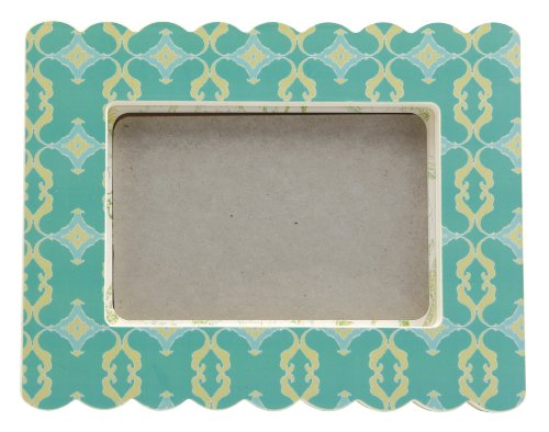 Cid Pear Baby Photo Frame, Aqua Trellis (Discontinued by Manufacturer)