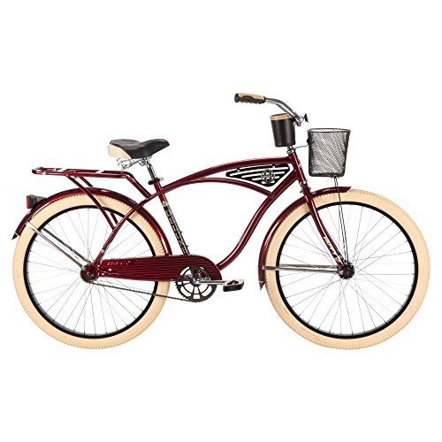 Huffy-Bicycle-Company-Mens-Deluxe-Cruiser-Bike-26Large