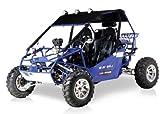 BMS Power Buggy 250 BLUE Gas 4 Stroke 244cc Recreational Buggy Go Kart thumbnail