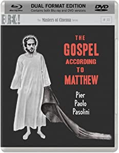 The Gospel According to Matthew (Dual Format Blu-ray + DVD) [Non-USA Format, Region B/2, UK Import]