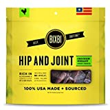 BIXBI Hip and Joint Premium Made In USA Healthy Natural Dog Jerky Treats, 15-Ounce, Chicken