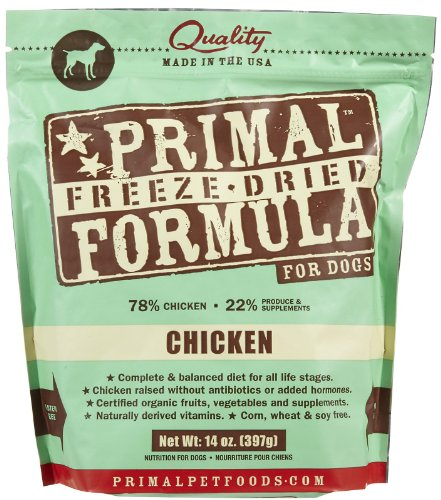 Primal Pet Foods Freeze-Dried Canine Chicken Formula 14 oz (Freeze Dried Pet Food compare prices)