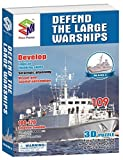Defend The Large Warship Battleship, 109 Pieces by 3d Puzzle Place