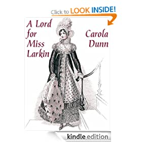 A Lord for Miss Larkin (Valiant Hearts Trilogy)