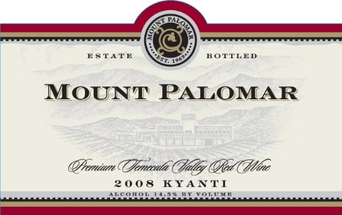 2008 Mount Palomar Kyanti Sangiovese Blend 750 Ml