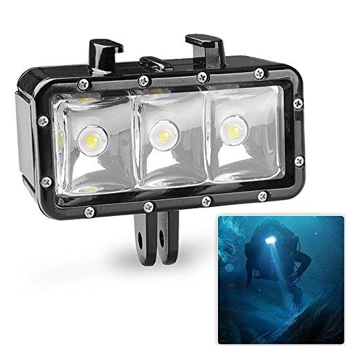 first2savvv-go-bgd-b02-30m-submarino-buceo-impermeable-luz-de-video-mini-led-luz-de-relleno-selfie-c