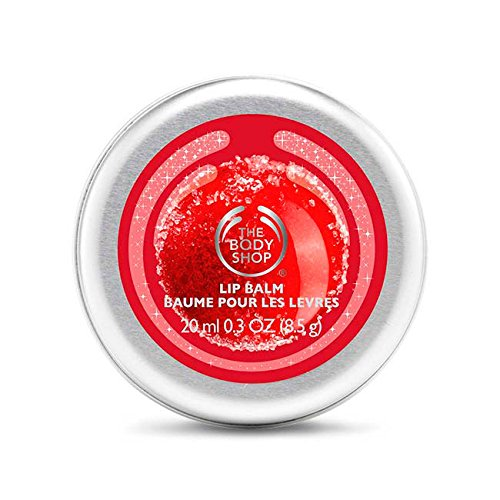 The Body Shop Frosted Cranberry Lip Balm Limited Holiday Edition (Glazed Apple Bath Jelly compare prices)