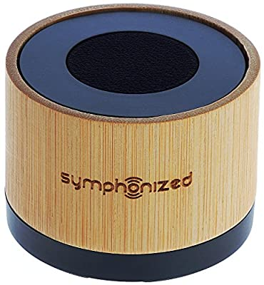 Symphonized NXT Premium Genuine Wood Bluetooth Portable Speaker. Compatible with All Bluetooth iOS Devices, All Android Devices and Mp3 Players
