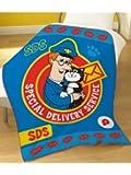 Postman Pat SDS Fleece Blanket, Multi, 120 x 150 Cm