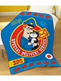 Postman Pat SDS Fleece Blanket, Multi, 120 x 150 Cm
