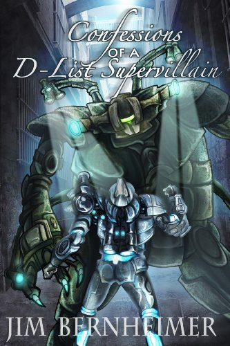 Confessions of a D-List Supervillain cover