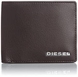 Diesel Men's Jem Wallets Neela S, Coffee Bean, One Size