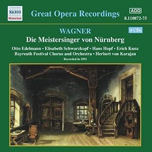 Wagner: Die Meistersinger von Nurnberg [Recorded 1951]