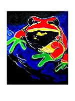 LegendArte Pintura al Óleo sobre Linezo Sfumature Anfibie