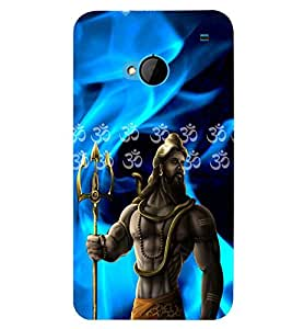printtech Lord Shiv Sankar Back Case Cover for HTC One M7::HTC M7