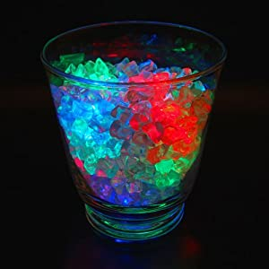 Club Pack of 12 Battery Operated LED Multicolored Waterproof Tea Lights