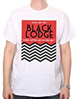 Inspired by Twin Peaks T Shirt - Black Lodge Travel Poster