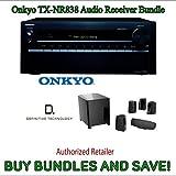 Onkyo TX-NR838 7.2-Channel Network A/V Receiver PLUS Definitive Technology ProCinema 400BK 5.1 Speaker System (Black 6 Pieces)
