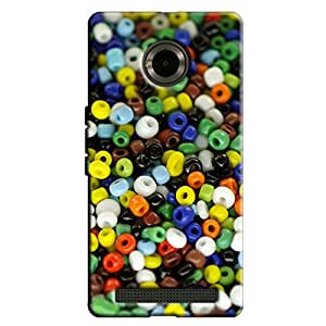 TOO MANY BEADS BACK COVER FOR MICROMAX YU YUNIQUE