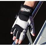 hochwertiger Motivex Segelhandschuhe Rückseite Spandex alle Finger kurz Grösse 3XL