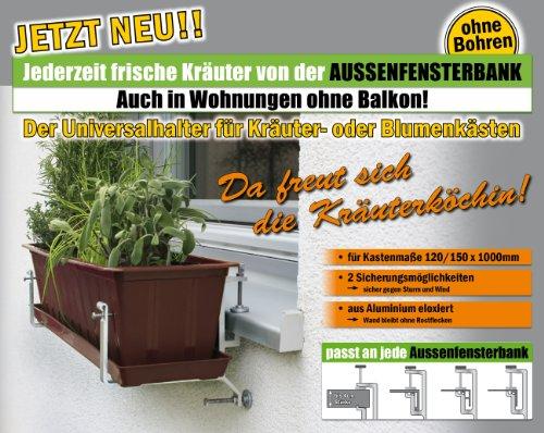 neuheit der blumenkastenhalter ohne balkon und ohne. Black Bedroom Furniture Sets. Home Design Ideas