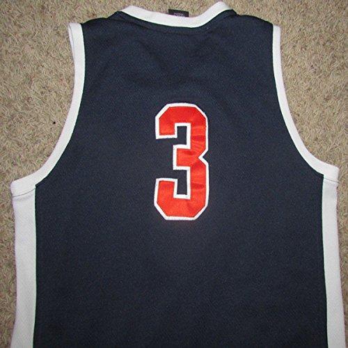Womens Nike Virginia Cavaliers Basketball Jersey Size Medium 8-10 M Cavs #3 Sewn