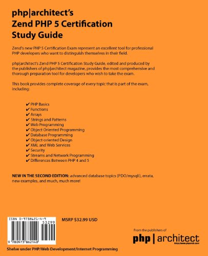 php architect's Zend PHP 5 Certification Study Guide