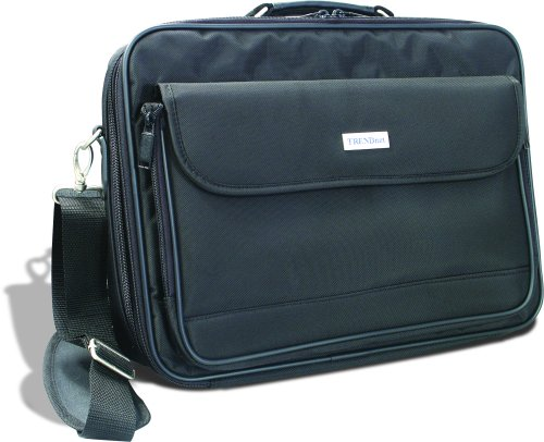 TRENDnet Padded Clamshell Carrying Case for 15 4 Inch Laptops TA NC1 Black
